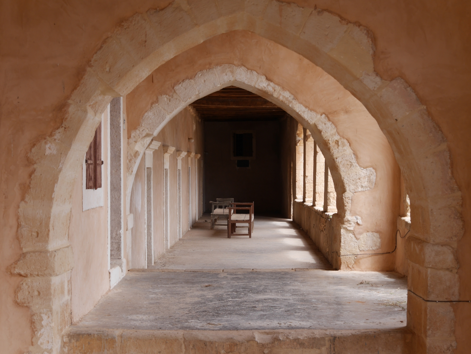 (Kreuz)gang im Kloster Arkadiou