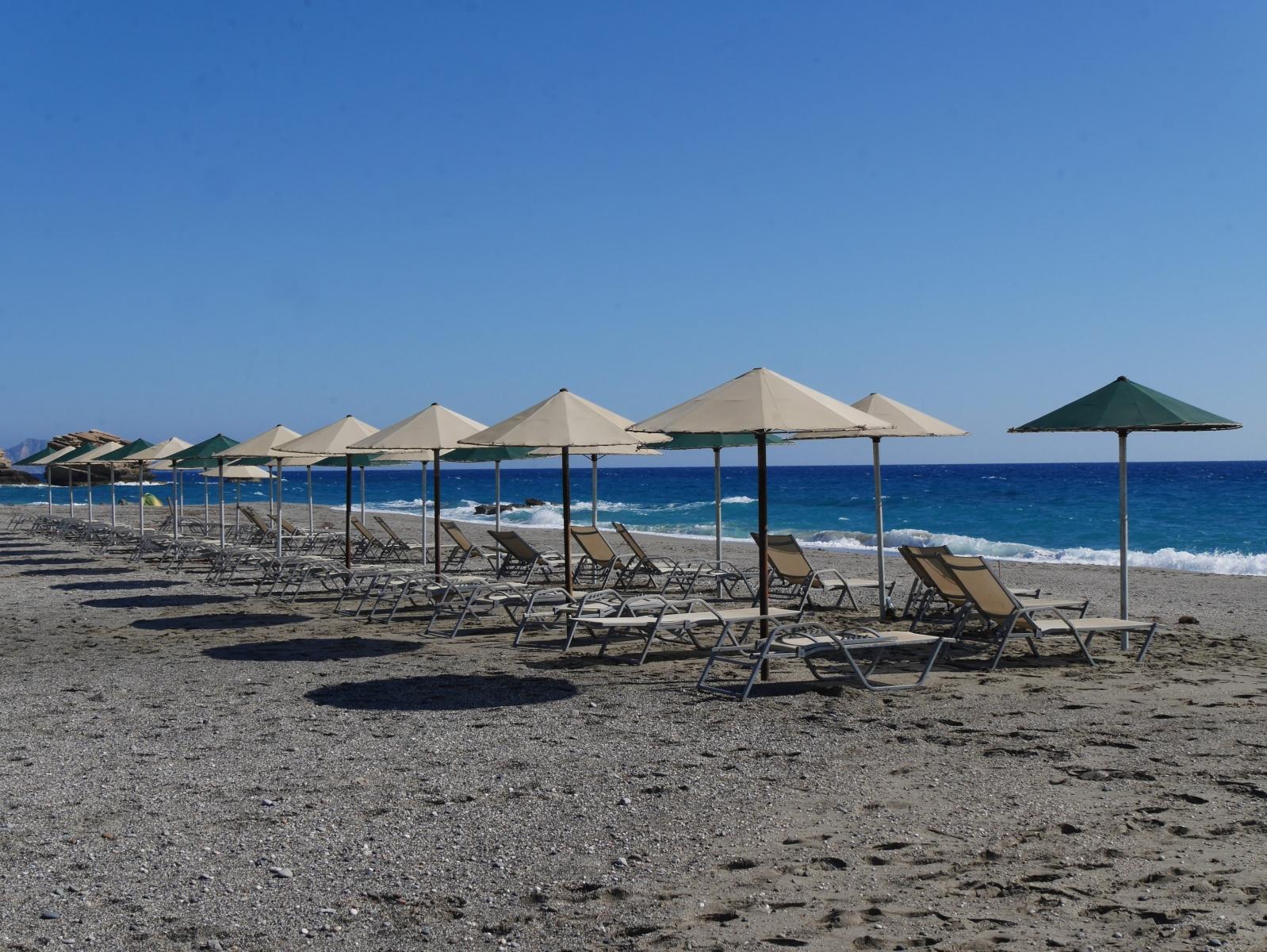 Sommer, Sonne Strand und Meer - ganau das, was ein jeder sich von einem Griechenlandurlaub erwartet.