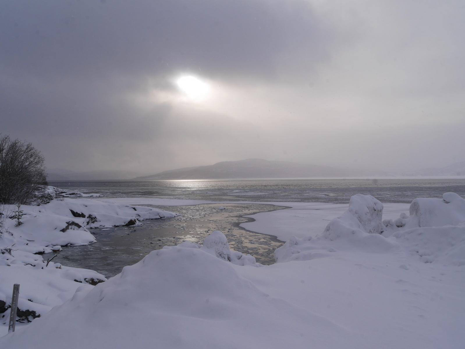 Hafenbucht von Finnsnes