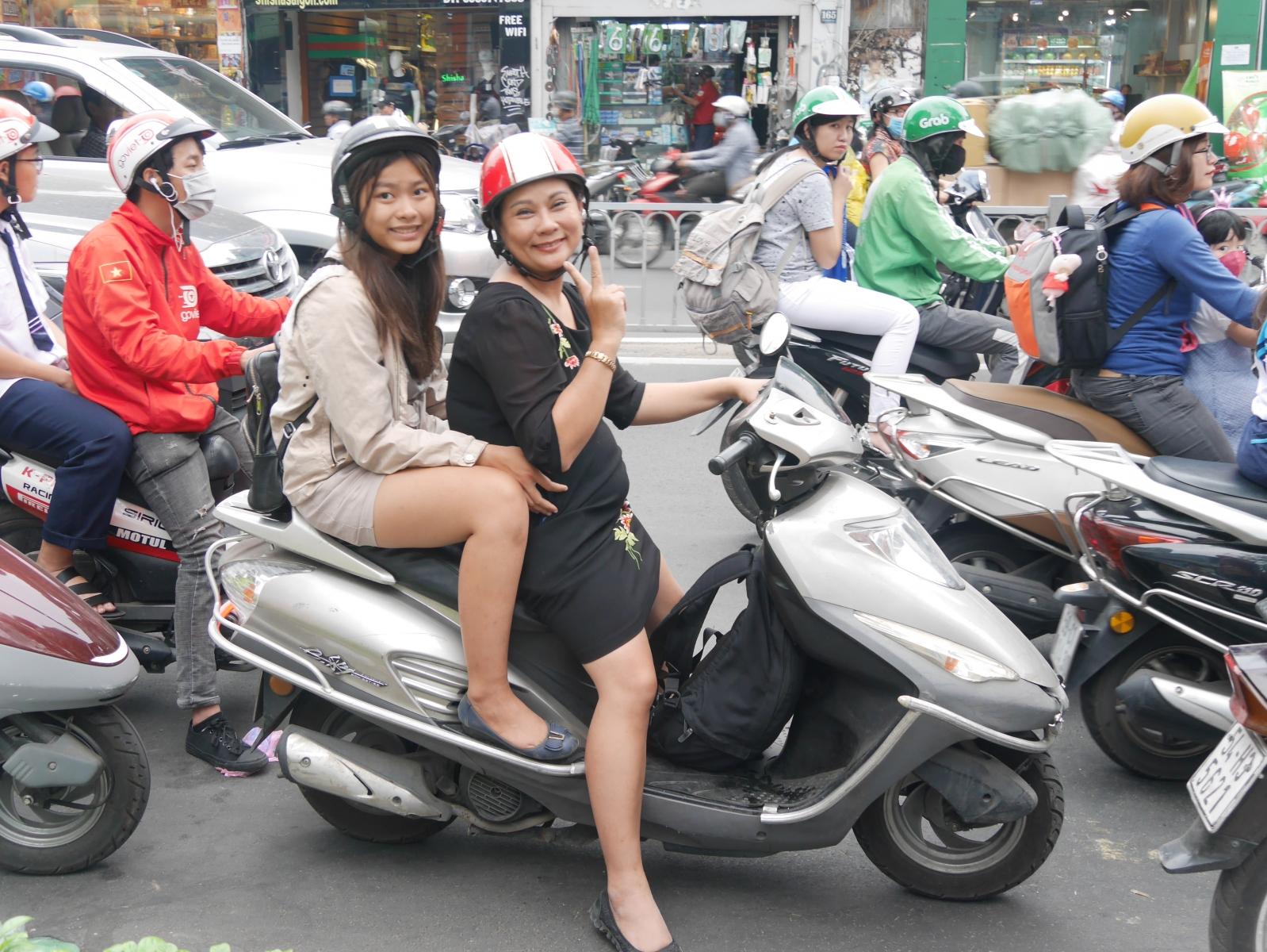 Rollerfahren