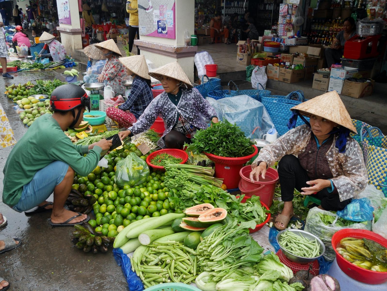 Ein traditioneller Markt