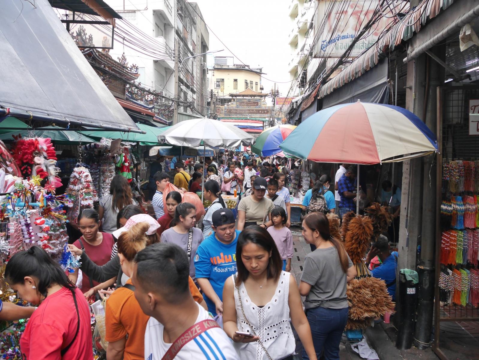 Seitenstraße von Bangkok