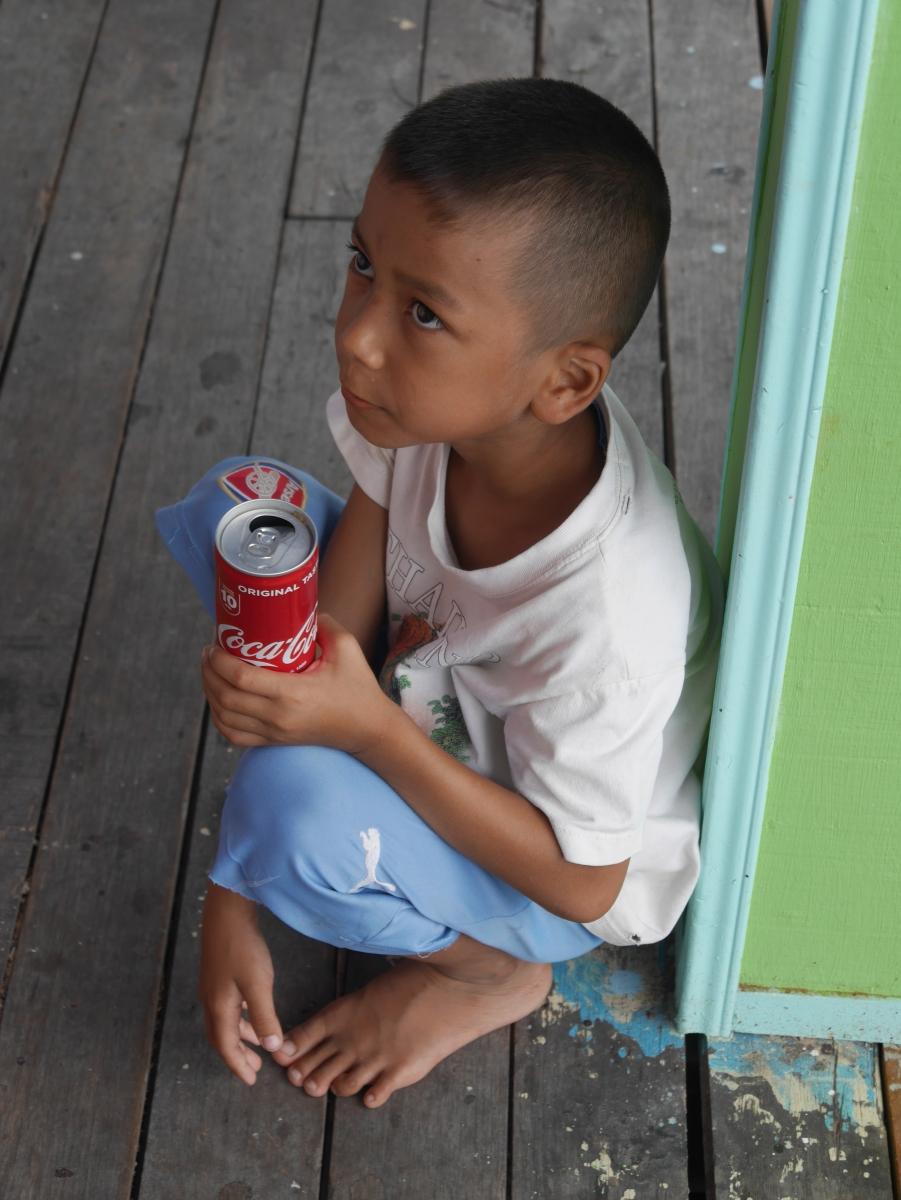 Eine Cola schmeckt auch Thailand